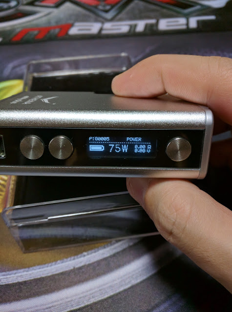 IMG 20160727 141811 2 - 【ステルス系MOD】ATHENA eNVy plus 75W 18650バッテリー使用可能モデル レビュー 23.5mmまでのアトマイザー使用可能【ATHENA eNVy plus 75W】