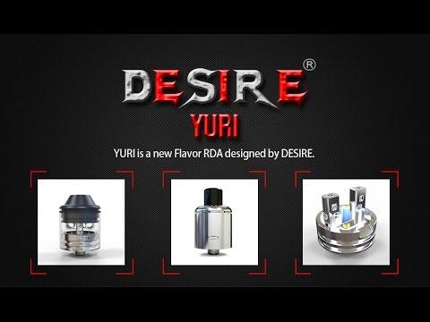 hqdefault 2 - 【RDA Yuri】 Yuri RDA by Desire ビルド&レビュー! フレーバー重視RDA 【Flavor RDA ドリッパー】