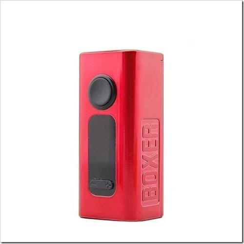 hugo vapor boxer 160w tc box mod d0a255B5255D 2 - 【MOD】Hugo Vapor BOXER 160W TC Box Mod【CUBOIDクラスのデュアルバッテリーMOD!】