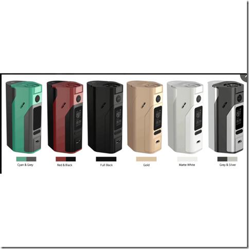 qq 20160725172739255B4255D 2 - 【MOD】18650を2本と3本で切り替え可能な「Wismec Reuleaux RX2/3 200w TC Box Mod」「Smok XCUBE Ultra 220W Bluetooth TC Mod」ほか