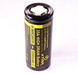 【正規品】 XTAR IMR (HIGH DRAIN) バッテリー (26650/3200mAh) 35A