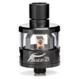 Authentic Oumier 22mm Diameter Bull-B RDA Rebuildable Dripping Atomizer Stainless Steel/Glass (Black) by Oumier [並行輸入品]