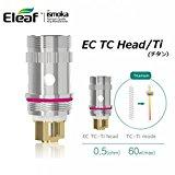 Eleaf 【正規品】EC TC Head5個パック/温度管理MELO2,MELO,iJust2対応/ (Ti/0.5Ω)