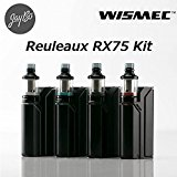 WISMEC Reuleaux RX75kit with Amor Mini 【VTC4電池付】[ルーローRX75+アムールミニ] (Full Black)