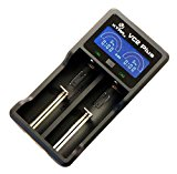 XTAR(エクスター) VC2 Plus MASTER USB 充電器 【カウントダウンタイマー機能付 LCD ディスプレイ】 VC2Plus