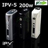 正規品 pioneer4you IPV5 200W TC MOD SONY VTC4+2set (ブラック)