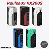 電子タバコバッテリー/WISMEC/Reuleaux RX200S/[ルーロー/RX200S]  (Cyan×Black)