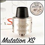 【 Mutation XS 】ミューテーション エックスエス リビルダブルアトマイザー ステンレス RBA RDA ドリッパー Unicig 社正規品 【Kuberu限定特典】オリジナルイージーRBAセット 付き