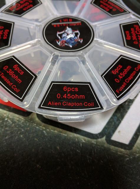 IMG 20160802 165743 2 - 【RDA ビルド・小物】Demon Killer 8 in 1 Coil Box レビュー&ビルド RDA 【Demon Killer Coil Box】