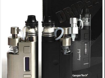 KRDB90 2 thumb255B2255D 2 400x300 - 【特殊MOD】「Kanger DRIP EZ」しゅこっとリキッドボトルを押して最大80W対応のチャージ簡単&リビルダブルMODスターターキット