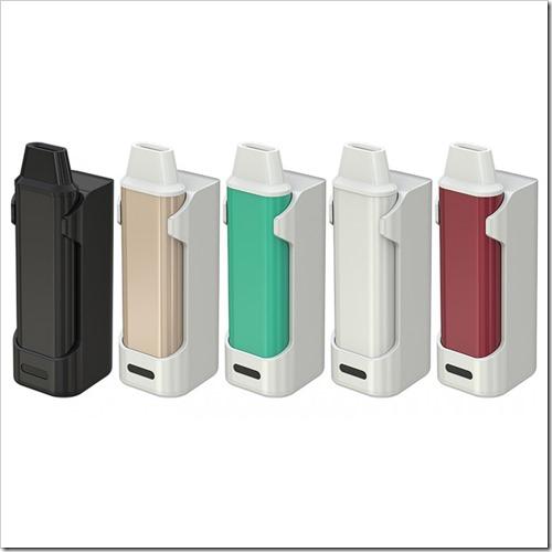 icare mini 01 1 thumb255B2255D 2 - 【海外】「Eleaf ICare Mini PCCスターター2300mAh」「Smok Alien 220Wスターターキット」「SMOK G-Priv 220WタッチスクリーンBOX MOD」など