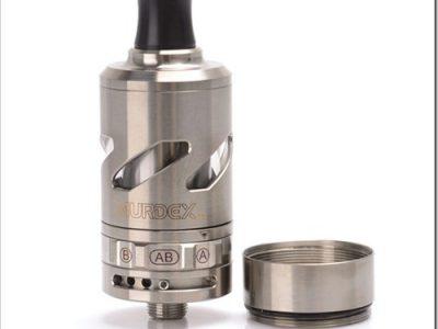 murdex halo t coil control rdta tank 1 thumb255B2255D 2 400x300 - 【RDTA】「Murdex Halo-T Coil Control RDTA」シングル/デュアルコイルを簡単交換可能なRDTAタンクアトマイザー!