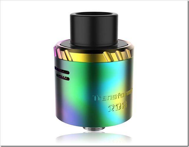 transformer rda 2 thumb255B2255D 2 - 【RDA】「Vaporesso Transformer RDA アトマイザー」ベロシティorポストレスでシングル~デュアル対応、ショート/ロングタイプスリーブ付属