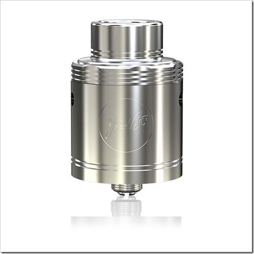 wismec neutron rda atomizer 1 1255B5255D 2 - 【海外】「WISMEC Neutron RDA」25mm幅の爆煙ドリッピングアトマイザー!クラウドチェイサー向けクラプトンコイル付
