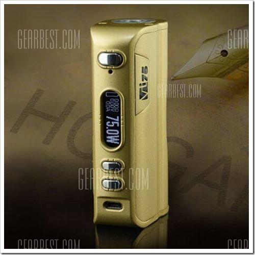 20160918153530 93816 thumb255B2255D 2 - 【海外】ゴールドHCigar VT75、VapgeCige SD75、Innokin iTaste Hunter 75W、Kangvapeのスターター など