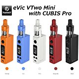 Joyetech eVic VTwo Mini with CUBIS Pro 【sony VTC4電池とACアダプター付】スターターキット (Black ブラック)