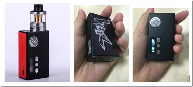 Catch252809 18 15 36 122529 thumb255B5255D 2 - 【新製品】「AugVape Zoom 60スターターキット」サブオームクリアロと1300mAhバッテリー内蔵MODのセット!