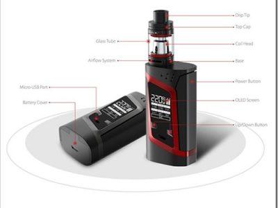 smok alien kit 1 5 2 400x300 - 【海外】「CoilArt AZEROTH RDTA - 24mm」「Vaporesso Tarot Pro TC 160W Box Mod」「Smok Alien 220W スターターキット」「IJOY Cigpet Ant TC 80w Box Mod」【Everzon新着】