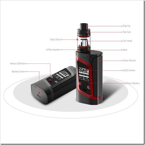smok alien kit 1 5 2 - 【海外】「CoilArt AZEROTH RDTA - 24mm」「Vaporesso Tarot Pro TC 160W Box Mod」「Smok Alien 220W スターターキット」「IJOY Cigpet Ant TC 80w Box Mod」【Everzon新着】