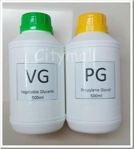 vape diy e liquid vg pg vegetable glycerin propylene glycol citymall 1509 17 citymall25401 thumb255B2255D 2 - 【コラム】タバコからの乗り換えならどの比率が良いのか?リキッドに使われるPG/VG/PEGについてまとめ【今更感&他人のふんどし】