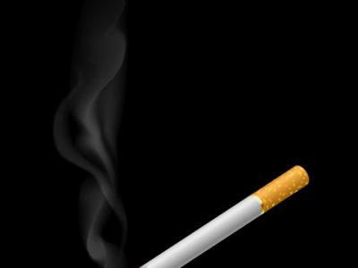 3f59824abb640b1d7e07e686c0c426d8 realistic burning cigarette with smokes thumb255B2255D 2 400x300 - 【コラム】タバコのデメリットは電子タバコで解消することができるのか?リアタバデメリットをまとめてみた。