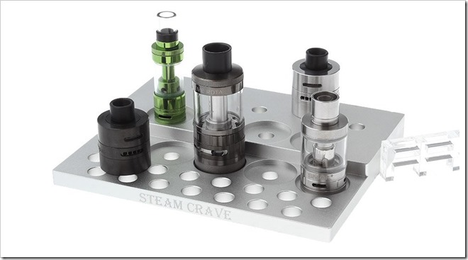 6092200 1 thumb255B2255D 2 - 【海外】「Steam Crave Aluminum Display Atty Stand」「Hexohm 2.0 300W VV Box Mod」「Smkon Revenant RDA」