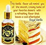 61s 5vB5MkL. SL160 2 - 【リキッド】高級バニラプリンセス!「Royal Vanilla(ロイヤル バニラ)【Queen's Lab】」リキッドレビュー!【フィリピンリキ】