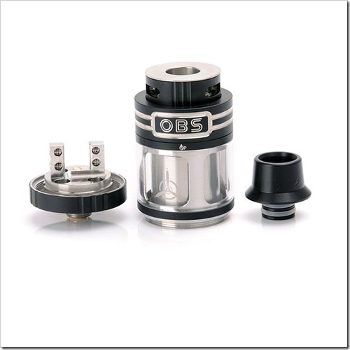 obs engine rta 1 thumb255B3255D 2 - 【RTA】「OBS Engine 25mm RTA」大口径爆煙フレーバーRTAと「IJOY CIGPET ANT.CIGPET VOLCA用交換コイル」