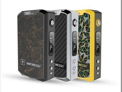 vaporesso tarot pro vape mod 1 thumb255B2255D 2 400x300 - 【MOD】「VAPORESSO TAROT PRO 160W BOX MOD」レビュー。160W高級感ありデュアルバッテリーMOD「ひと味…違うのね」追記:5オーム検証
