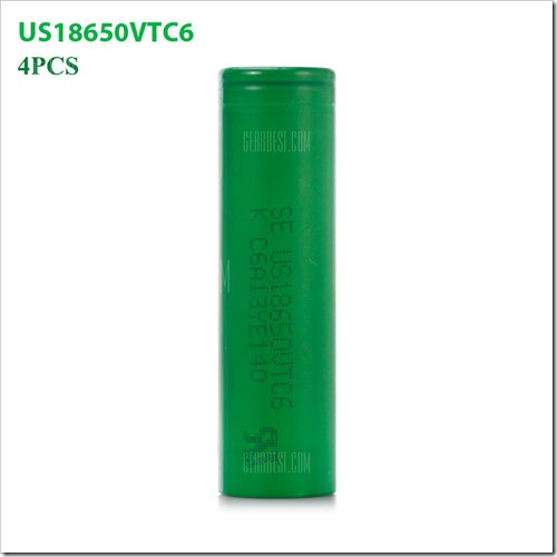 20161110164718 27608 thumb255B2255D 2 - 【バッテリー】「SONY VTC6 18650バッテリー」が8%オフでセール中【GearBest】