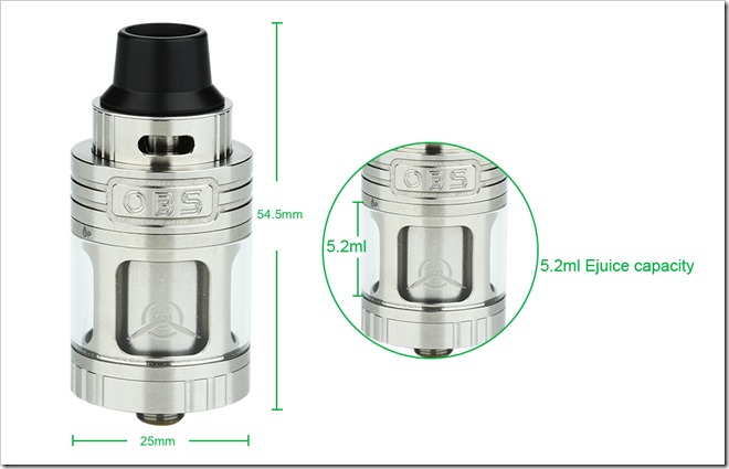40fdbdaf01908cd04411442ead15d0eb thumb255B3255D 2 - 【RTA】「OBS Engine RTA Tank - 5.2ml」大容量25mm爆煙フレイバーチェイサータンクレビュー!【HEAVEN GIFTS】