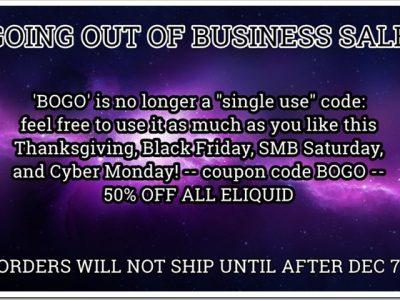 4c0dba14 f4a9 4e9c 89a2 8812678c96be thumb255B2255D 2 400x300 - 【リキッド】Nicoticketまさかの最終セールは「BOGO」(初回購入用)で50%オフのブラックフライデー!