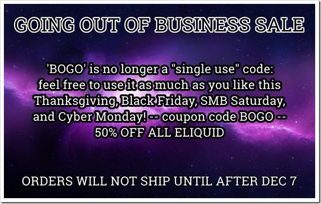 4c0dba14 f4a9 4e9c 89a2 8812678c96be thumb255B2255D 2 - 【リキッド】Nicoticketまさかの最終セールは「BOGO」(初回購入用)で50%オフのブラックフライデー!