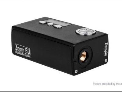5903004 3 thumb255B3255D 2 400x300 - 【MOD】「AUGVAPE ZOOM 60キット」VV機能つき小型スターターキット!レビュー【マルチ機能ボタンあり】