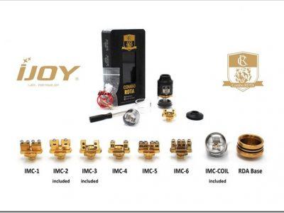 Ijoy Combo RDTA RDA Sub Ohm Tank thumb255B2255D 2 400x300 - 【コスパ抜群】大型IJOY COMBO RDTAレビュー!!【3in1】