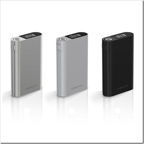 joyetech cuboid 200 mod 1 thumb255B2255D 2 - 【MOD】3本バッテリー「Joyetech Cuboid 200W TC Box Mod」【大型筐体/ファームウェアアップグレード可】