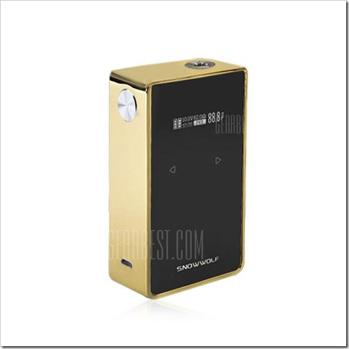 20161210173535 47517 thumb255B2255D 2 - 【海外】「Snowwolf 200W Plus Mod」「HCIGAR E Liquid Bottle for VT Inbox Mod」「2ml/4ml Therx MeRing Sub Ohm Tank」「エポキシ樹脂レジン510ドリチ」など