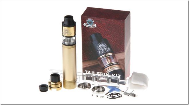6397402 5 thumb255B2255D 2 - 【海外】「Katady Epower GT 70W TC VW APV Mod」「 Katady Kvapor M7 60W TC VW APV Mod」「Steelvape Tailspin 18650 Mechanical Mod Kit」ほか