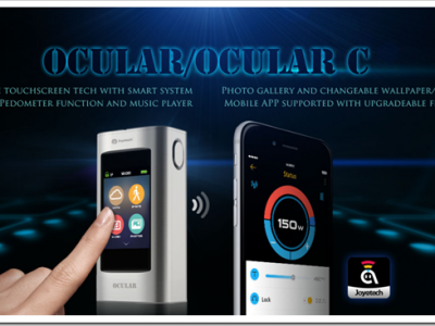 Ocular thumb255B2255D 2 400x300 - 【期待の新製品】「Joyetech Ocular/Ocular C」とうとう出たタッチパネル+MP3プレイヤー+フォトギャラリーつきMOD!