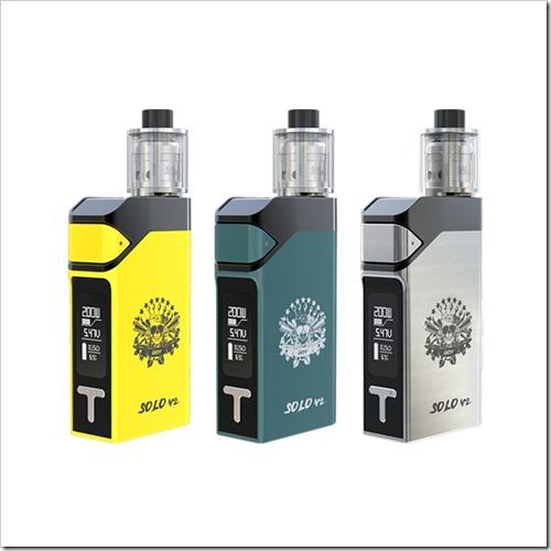 ijoy solo v2 1 thumb255B3255D 2 - 【新製品】「IJOY SOLO V2 200W スターターキット」最大200WのVW/TCスターター。テイストコントロールつき