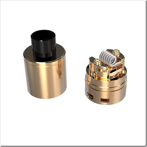 pharaoh dripper tank gold 2 thumb255B2255D 2 - 【RDA/海外】EverzonでPharaohドリッパーが激安!「Coil Master Coiling Kit V4」「Pilot Vape Coil Magician Mini Tab (Ohm Meter)」「80W B-Box Mini Starter Kit」