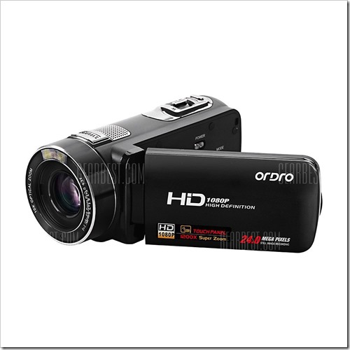 20160426153617 43325 thumb255B2255D 2 - 【カメラ/ガジェット】「ORDRO Z80 3インチ液晶搭載10倍光学ズーム 2400万画素 フルHDビデオカメラ」レビュー。日本初中華製カメラレビュー?