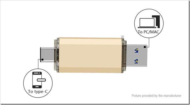6759300 6 thumb255B2255D 2 - 【海外】「USB 3.1 Type C/USB 3.0 OTGフラッシュドライブ (64GB)」「Fumytech Crystal/EarthBall RDTA」「アクリルワイドボアドリチ」