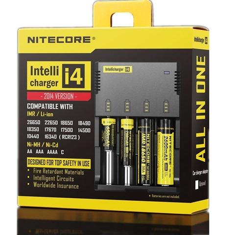 71QDOfRnA2L. SL1300 thumb255B2255D 2 - 【バッテリー/充電器】「NITECORE ナイトコア Intellicharger i4」レビュー。4本同時充電可能、コスパに優れたバッテリーチャージャー。