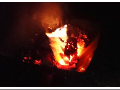 DSC 1186 thumb255B2255D 2 400x300 - 【実験】2017年新春VAPE実験!!「グリセリンは果たして燃えるのか?!」焚き火で燃やしてみた。そして最終日焼肉とギョ~ザとニジマスで〆!