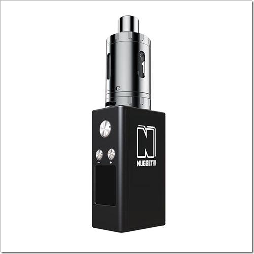 artery nugget v2.0 kit 1 1 thumb255B2255D 2 - 【MOD】小さいのは正義!?「Artery Nugget V2.0 TC MOD 1500mAh」レビュー。バッテリー内蔵でギガント小さいデス!【コンパクト/小型/VAPE/電子タバコ】