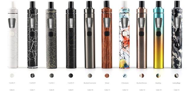 eGo AIO 01 new1 thumb255B2255D 2 - 【新製品】「Joyetech eGo AIO」のカラーバリエーションモデルが登場、クラック柄、ウッド、カモフラなど【VAPE/電子タバコ/ジョイテック】