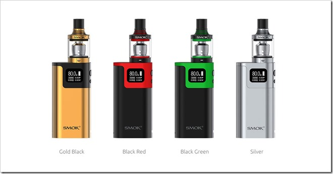smok g80 kit 11 thumb255B2255D 2 - 【海外】「Terminator 75W TC キット」「DOVPO EMBER 80キット」「Smok G80 Mod キット with Spiralsタンク」