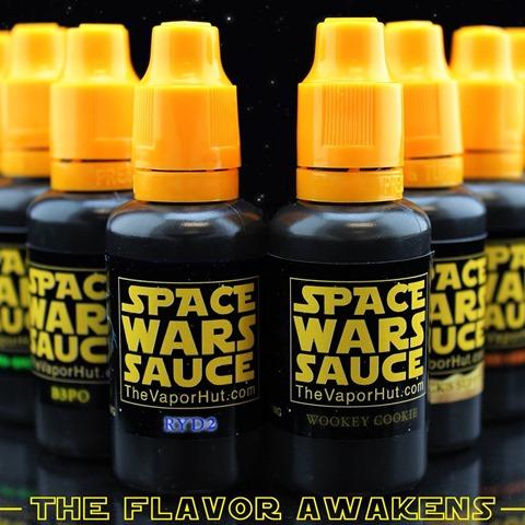 spacewarssauce thumb255B2255D 2 - 【リキッド】THE VAPOR HUTからSPACE WARS SAUCE「DARTH VAPOR(ダース・ベイパー)」「SARLACK'S SUPPER(サーラックススーパー)」レビュー。【スターウォーズパロディ】