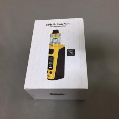 IMG 7558 2 - 【スターターキット/MOD】Joyetech「eVic Primo mini With ProCore Ariesスターターキット」(ジョイテックイービックプリモミニウィズプリコアアリエス)レビュー。小さくて軽くてすごいやつ!【VAPE/電子タバコ】